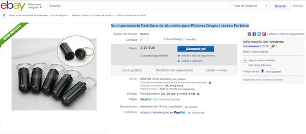 drogas suigéneris en ebay
