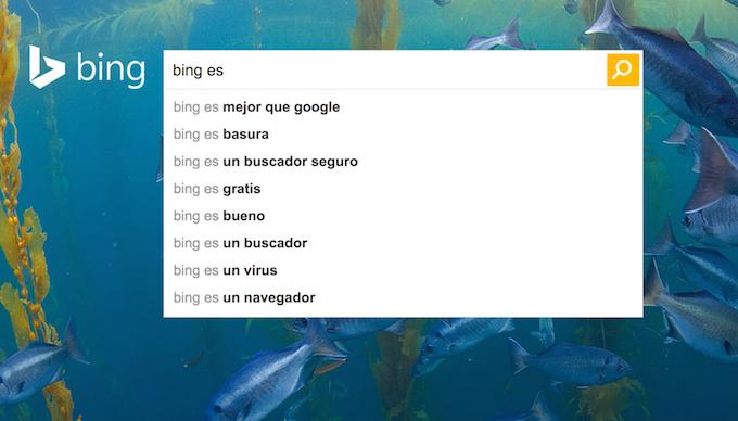 esto es bing para bing