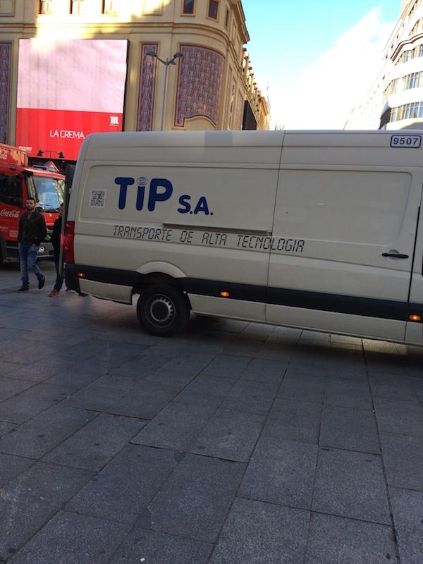 TIP SA y los radiorelojes