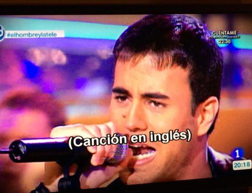 La traducción en la televisión: Qué risa me da